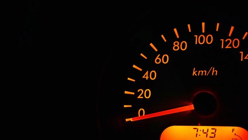 prędkość na obrazku