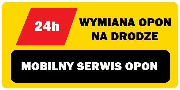 logo MOBILNY SERWIS OPON KRAKÓW, MYŚLENICE, ZAKOPIANKA