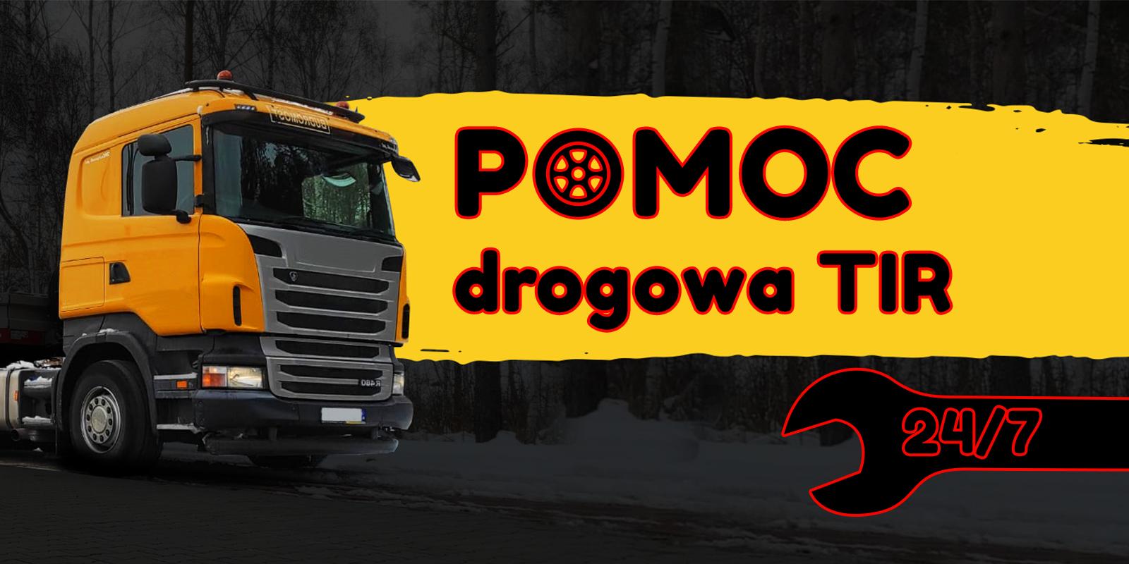 logo POMOC DROGOWA CIĘŻAROWE-TIR  ZGORZELEC 507 548 249