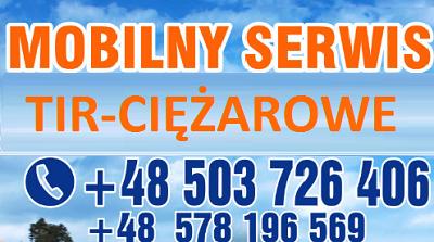 logo MOBILNY SERWIS TIR CIĘŻAROWE: Słowacja , Słowenia , Chorwacja , Bułgaria, Rumunia , Węgry
