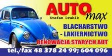 logo BLACHARSTWO LAKIERNICTWO LIPA MIKLAS, LIPSKO
