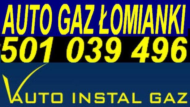 logo AUTO GAZ WARSZAWA ŁOMIANKI