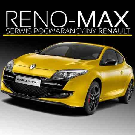 logo RENO-MAX Nieautoryzowany Serwis Renault i Dacia REDA