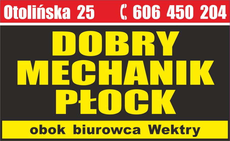 logo MECHANIK SAMOCHODOWY PŁOCK  606 450 204